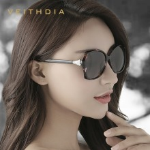VEITHDIA 2018 New Diamond Women Sunglasses Polarized Luxury Driving Sun Glasses UV400 Oculos de sol For Ladies 3027