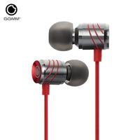 Original GGMM Stereo Music In Ear Earphone Full Metal Bass Earphones Hands Free With Microphone Gaming