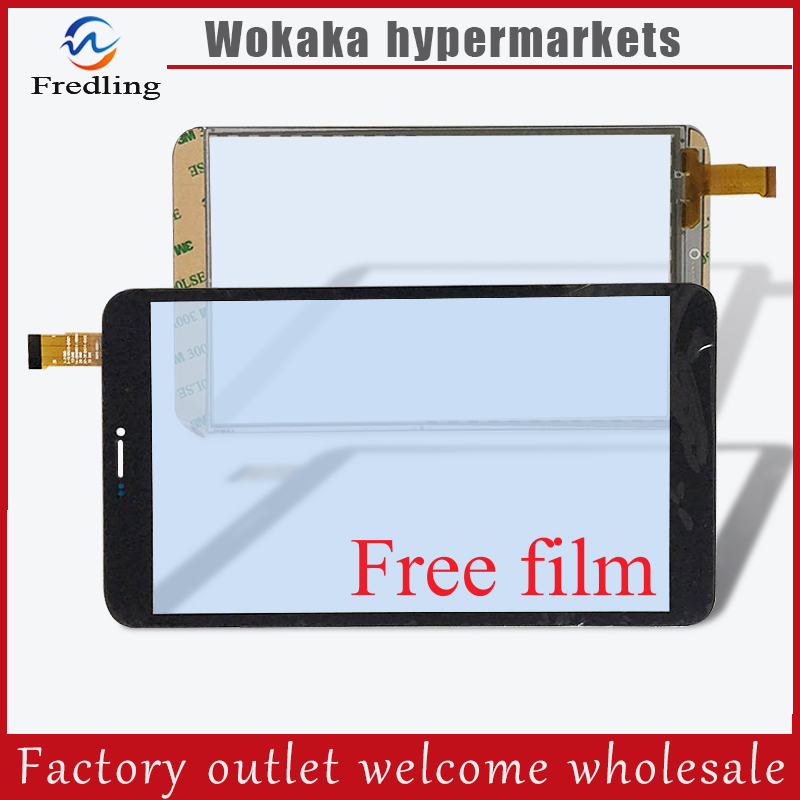 Free film+New 8 inch Tesla Neon 8.0 / Oysters T84ERI 3G/ T84MRI 3G Tablet Capacitive touch screen panel Digitizer Glass Sensor new 8 inch digitizer front touch screen glass digitizer for tesla neon 8 0 tablet pc