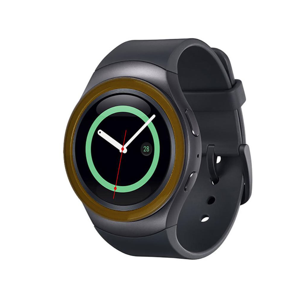 Protective Case For Samsung Gear S2 R720 Watch 42mm Smart Watch accessories Soft Silicone Protection ring cover protection shell in Watchbands from Watches