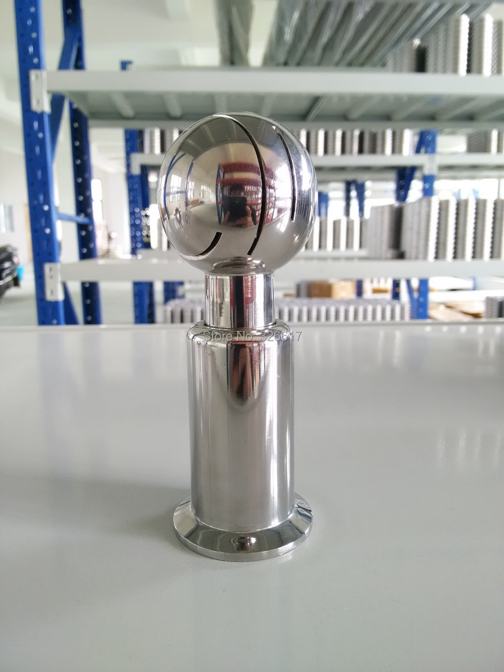 1.5 inch Tri Clamp Rotating CIP Spray Ball 360 Degree Cleaning Ball SS304 Stainless Steel Food Grade zuczug 1 5 ss304 stainless steel female rotary spray cleaner sanitary nipple rotating cleaning ball nozzle horn washer tank