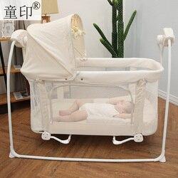 Babyfond Baby Schaukel Bett Multi-funktion Baby Elektrische Wiege Bb Kleine Schaukel Bett