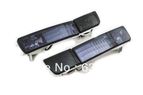 Smoke Crystal Style Euro Bumper Fog & Turn Signal <font><b>Lights</b></font> For <font><b>VW</b></font> Volkswagen <font><b>Golf</b></font> <font><b>MK3</b></font> image