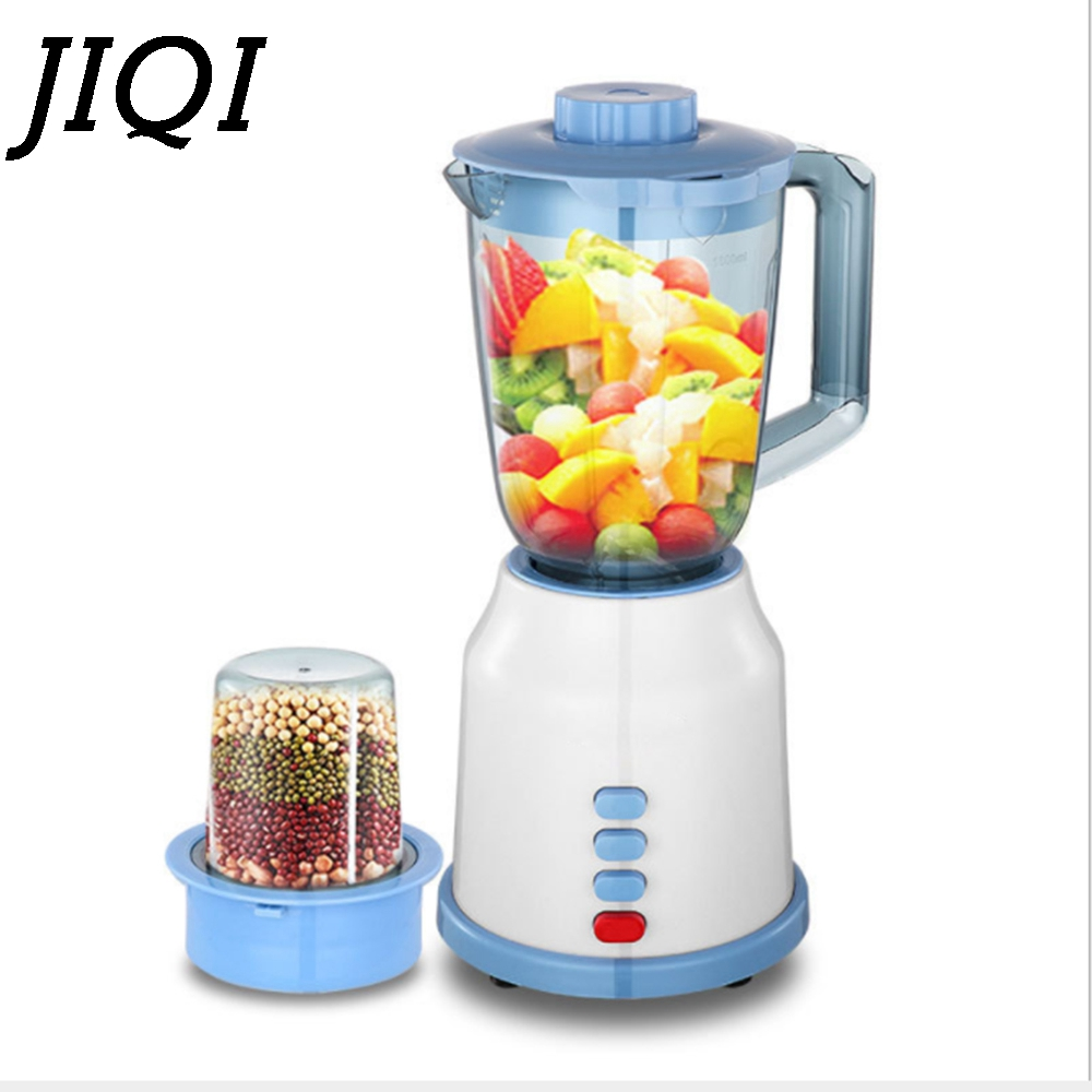 JIQI Multifunction Electric Juicer Baby Food Smoothie Milkshake Mixer Blender Meat Grain Grinder Vegetable Fruit Juice Extractor
