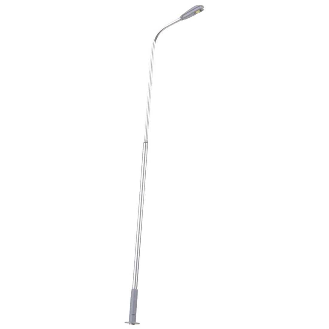 10 sztuk Model LED Street lampa pojedynczy klosz układ pociągu krajobraz 1: 100