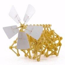 Головоломка-Тварь с питанием от ветра, сделай сам, ходунки, сборка strandbeest, DIY модели, строительные наборы, игрушки, экологические развивающие игрушки, подарок