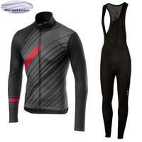 Winter thermal fleece Cycling Jersey 2018 Pro team cycling clothing Keep warm long sleeve Jersey Maglia ciclismo invernale