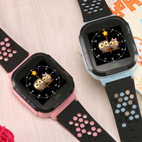 1pcs 2017 New GPS Tracking Watch For Kids Smart Watch With Flash Light Touch Screen SOS