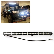 19inch 54W Slim LED Work Light Bar LED Light Bar Offroad with CREE Chips Lamp Foglight LED Tractor Work Car Lights for Jeep BMW