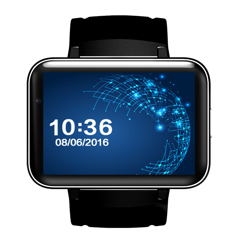 2.2 Inch IPS Smart Watch Phone DM98 Android 4.4 OS MTK6572 Bluetooth Smartwatch Fitness Tracker Nano SIM Wifi Heart Rate GPS dm2018 smart watch android gps sports 4g smartwatch phone 1 54 inch bluetooth heart rate tracker monitor pedometer pk kw88 dm98