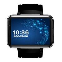 2.2 inç ips smart watch telefon dm98 android 4.4 os MTK6572 Bluetooth Smartwatch Spor Izci Nano SIM Wifi Kalp Hızı GPS