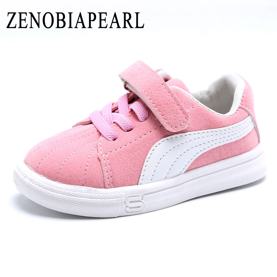 ZENOBIAPEARL Children Girls New Causal Canvas shoes Baby Girls Breathable Striped Shoes Tolddlers Chaussure Enfant Sneakers