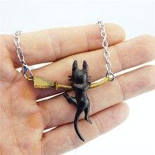 Black Cat Cute Necklace