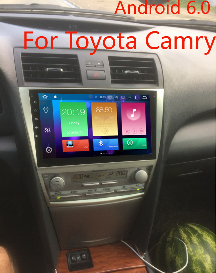 android 6 0 car gps navigation car dvd for toyota camry. Black Bedroom Furniture Sets. Home Design Ideas
