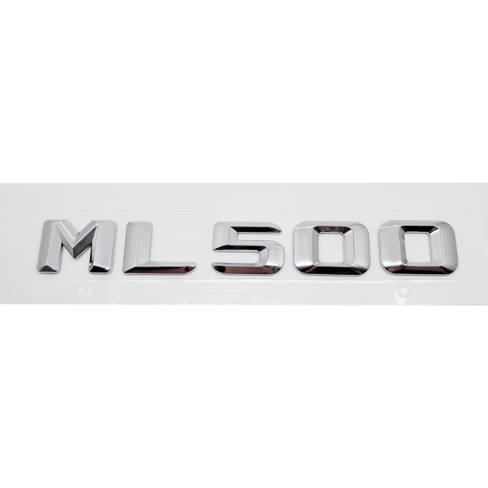 For Mercedes Benz ML Class ML430 ML450 ML500 ML550 W163 W164 W166 Chrome Number Letters Rear Trunk Emblem Badge Sticker in Car Stickers from Automobiles Motorcycles