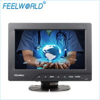 7 800x480 TFT LCD Touch Monitor With HDMI VGA Video Audio Inputs FW669AHT