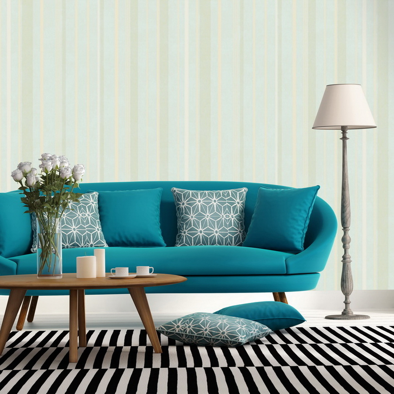 Mediterranean Style Striped Wallpaper Pvc 3d Living Room Wallpaper Papel De Parede 3d Para Sala Atacado Wall Papers Home Decor 015 top fashion papel de parede para sala wall style elephant with collapsing design 3d wallpaper mural can be customized paper