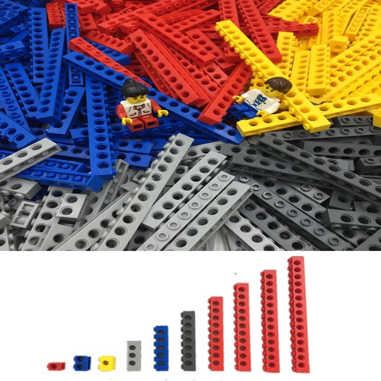 크리 에이 티브 테크닉 빌딩 블록 500 그램/대 legoes 부품과 호환 액세서리 대량 벽돌 완구-에서블록부터 완구 & 취미 의  그룹 1