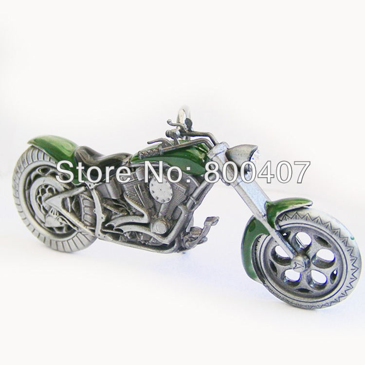 Wholesale Retail Vintage Green 3D Heavy Metal Motorcycle Rhinestone Belt  Buckle BUCKLE AT072GR In Stock Free Shipping-in Men s Belts from Apparel ... 361735e2c36e