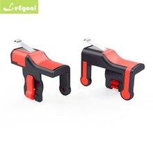 Jogo móvel joystick gatilho l1r1 controlador botão de fogo alvo chave do telefone inteligente para regras pubg de sobrevivência disparadores de atirador móvel
