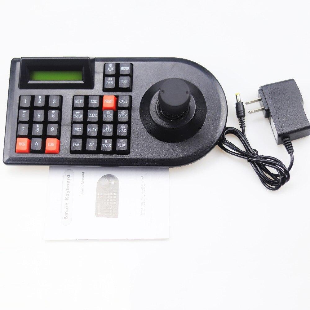 Gzgmet 64 компл. CCTV аналоговые сети Камера Ручка Джойстик DVR PTZ 3D RS485 Скорость купольная Pelco-D/P Камера контроллер клавиатуры