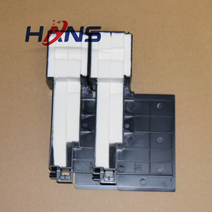 Image 5 - 16 قطعة الأصلي L301 عبوة حبر فارغة قطعة تنظيفٍ إسفنجية لإبسون L300 L303 L350 L351 L353 L358 L355 L111 L110 L210 L211 ME101 ME303 ME401