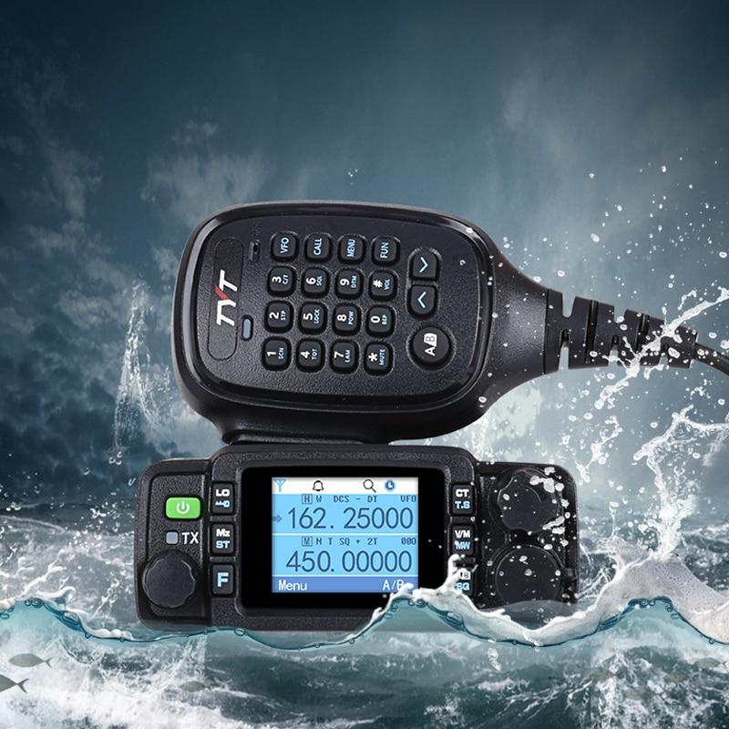 TYT TH-8600 IP67 étanche portable radio station de voiture pour voitures transceiver ham portatiles uhf vhf talkie-walkie moto marine