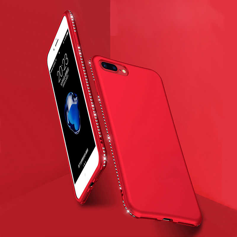 Мягкий блестящий чехол для телефона SIXEVE чехол для iPhone 6 6s 7 8 Plus X 10 6 Plus 6s Plus 7 Plus 8 Plus роскошный силиконовый тонкий чехол со стразами