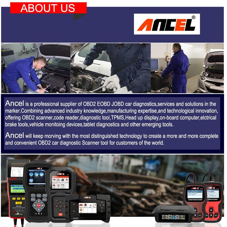 Ancel AD510 OBD11 Automotive Diagnostic Scanner - Free Shipping
