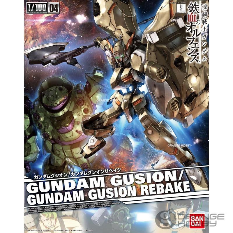 OHS Bandai TV Iron-Blooded Orphans Season I 04 1/100 Gundam Gusion/Rebake Mobile Suit Assembly plastic Model Kits