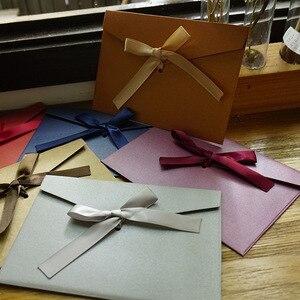 Image 4 - Envelopes de papel vintage 50 pçs/set, fita de envelopes em branco envelopes de convite/presente/envelope/12 cores drop shipping