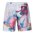 New 3D Board shorts boardshorts mens Quick drying surfshorts Print beach wear trunks Bermuda Sea Shorts