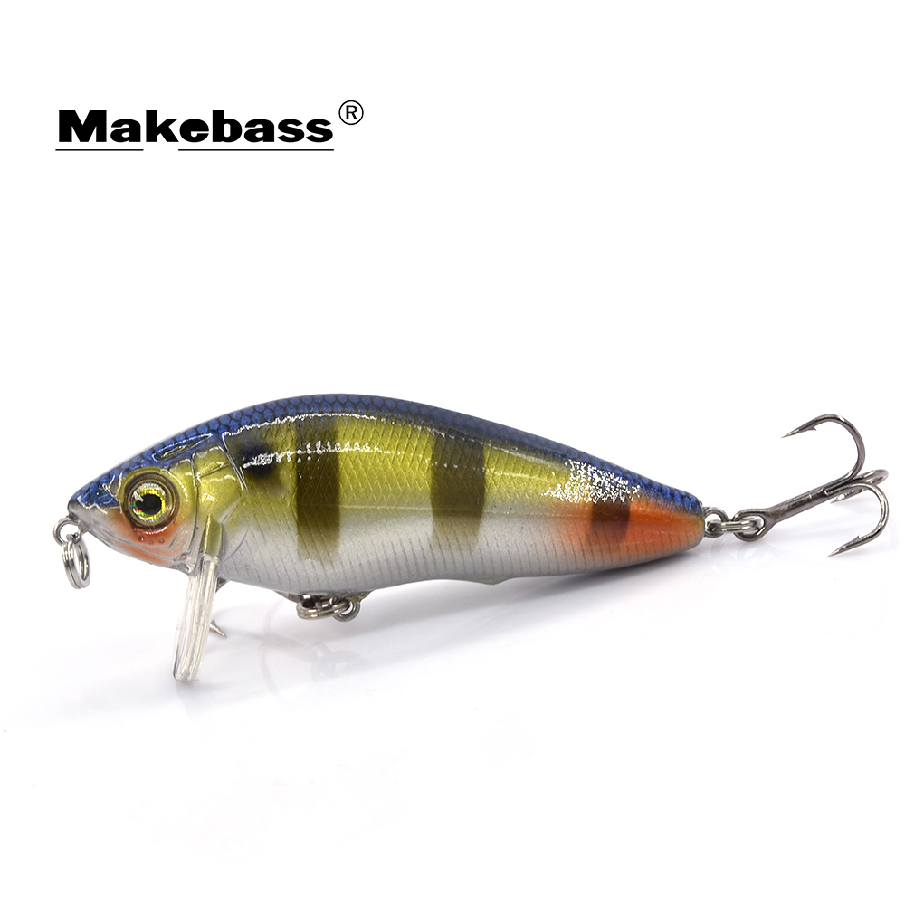 MAKEBASS 2.6 дюймов/0,3 унции приманка для ловли рыбы, Плавающие жесткие наживки плавающие наживки, лодка, морские приманки, рыболовные снасти|Наживки|   | АлиЭкспресс