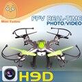 JJRC H9D-4 2.4G 4CH UFO Helicóptero de Control Remoto FPV RC Quadcopter con Cámara de 2MP MT900021