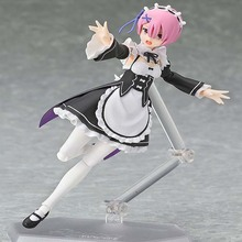 Life in a different world from zero Ram Lem Figma 346 347 PVC Action Figure Collectible