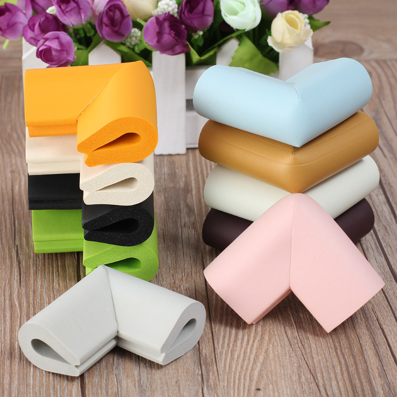 12Pcs U Shape Foam <font><b>Baby</b></font> Safety Corner Table Protector Edge Corner Guards Children Safety <font><b>Products</b></font> <font><b>Proof</b></font> Cushion Guard Protector image