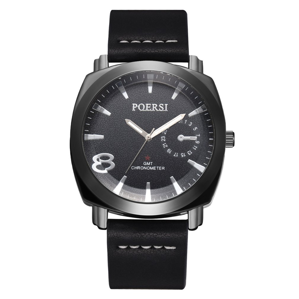 Methodical Watches Men Square Analog Quartz Watch Business Waterproof Luminous Stainless Steel Mesh Band Wrist Watches New Varieties Are Introduced One After Another Quartz Watches