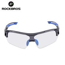 ROCKBROS Photochromic Cycling Sunglasses Eyewear UV400 Polarized MTB Bicycle Goggles Women Men Outdoor Sports Bike Glasses
