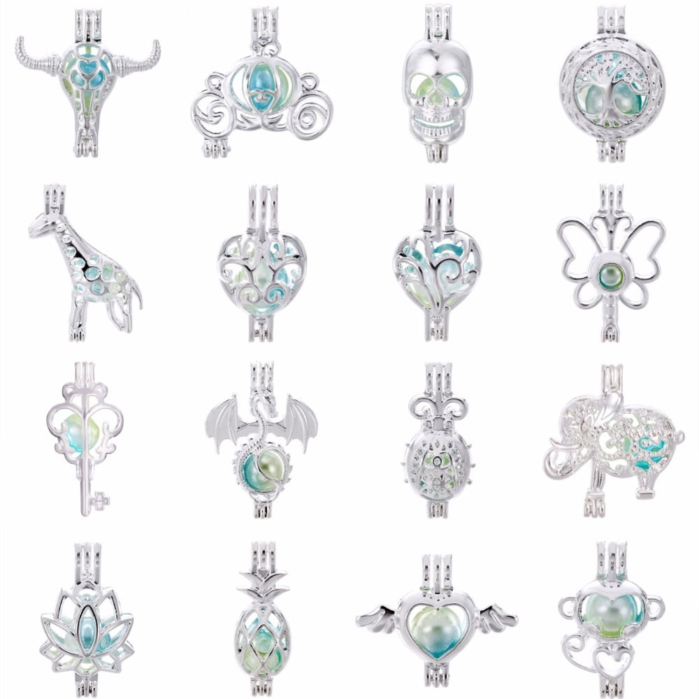 10 Sets Mixed Silver Golden Magnetic Clasps Hook For Jewelry Making 11~28x5~12mm
