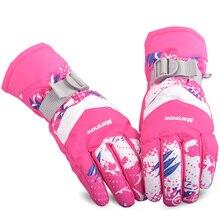 Windproof Skiing Gloves Waterproof Winter Keep Warm Snowboarding Glove Men Outdoor Riding Motorcycle Gloves Breathable
