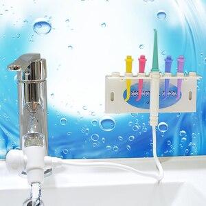 Image 4 - 2019 Nieuwe Kraan Water Flosser Oral Dental Irrigator Tanden Bleken Floss Waterstraal Floss Pick Orale Irrigatie Water Dental Pick