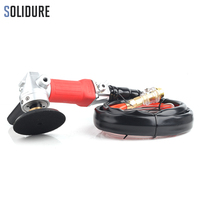 휴대용 후면 배기 폴리 셔 및 그라인더 기계 wtih m14 또는 5/8-11 폴리 쉬드 스톤 용 나사