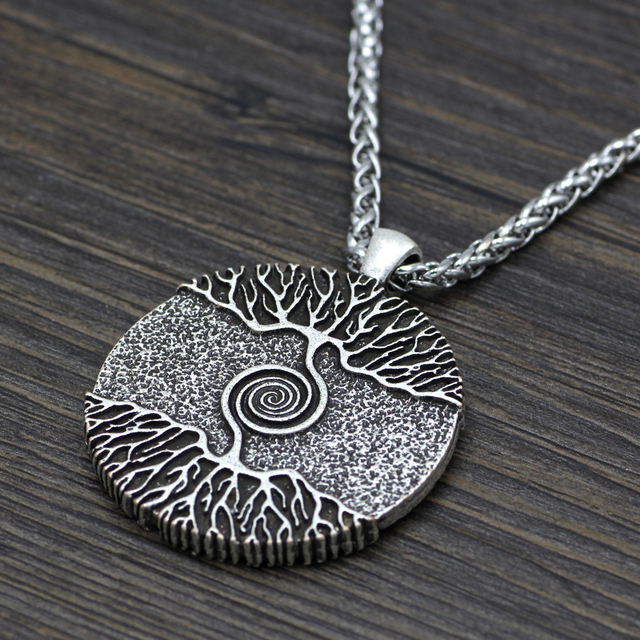 The Tree of Life Yggdrasil Nordic Talisman Pendant Necklace