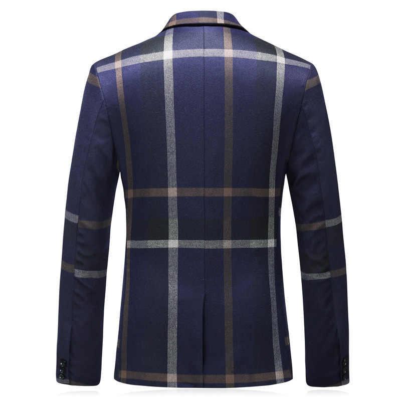 Темно-синие/серые мужские костюмы с брюками пальто новейший дизайн 2019 Slim Fit мужское свадебное платье Мужская праздничная одежда деловой офисный костюм