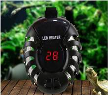 Fish Tank Water Heater 220V-240V 25-100W Aquarium Submersible LED Heating Rod Thermostat Digital Display Explosion-proof Chip(China)