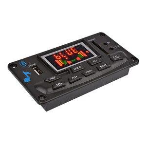 Image 5 - AIYIMA Módulo de Audio con decodificador MP3, 12V, 4,2 Bluetooth, pantalla de espectro, sin pérdida, APE, decodificador, compatible con aplicación EQ, FM, AUX, accesorios para coche