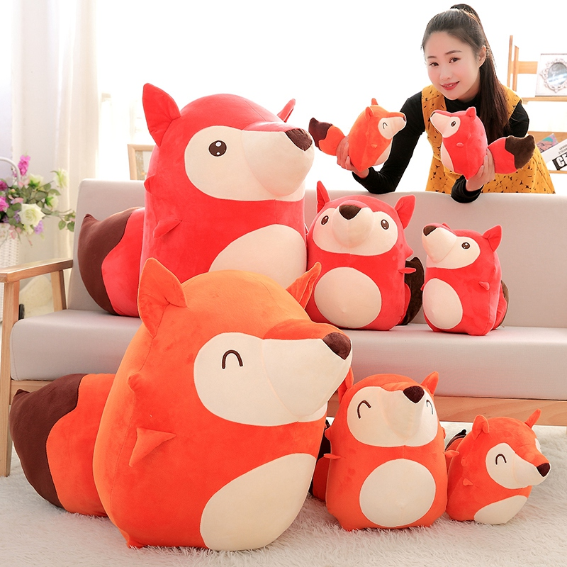 20cm Cute Ali Fox Lover Baby Soft Doll Plush Toys Soft Cotton Stuffed Animals Toys,Birthday Gift 38cm plush whales toys with soft pp cotton creative stuffed animal dolls cute whales toys fish birthday gift for children
