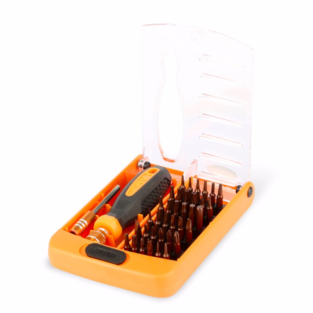JAKEMY Precision Electric Screwdriver Set with Torx Multitool Screw Driver Bits for Iphone Laptop Repair Tools Kit in Screwdriver from Tools