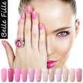 10ml Candy Color Gel Nail Polish UV Gel Polish Vernis Semi Permanent Soak Off UV Gel Colors Bling Nail Gel