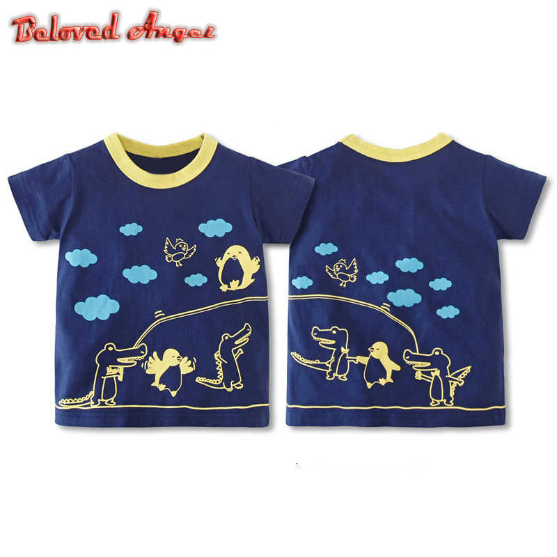 a7c25c37c8f0e 2019 Hot Sale Boys T Shirt Girls Clothes Cartoon Children's T Shirt Kids  Brand Clothing Summer